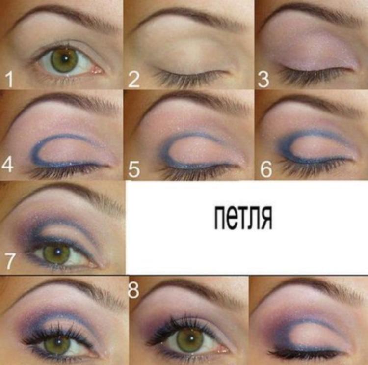 Мастер-класс по макияжу для светлых глаз